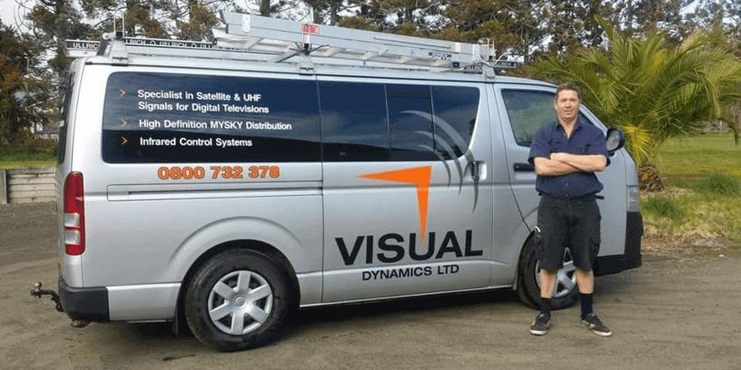 visual dynamics travel van