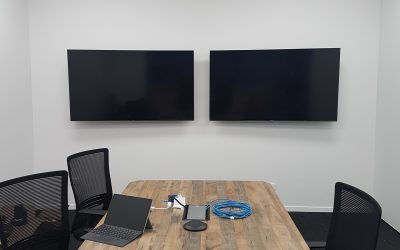 wall mount installed tv